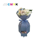 JDCMYK New Arrive Unique design Flowers gift box include drawer flower box chocolate /candy box, wedding packing box 4 colours choose