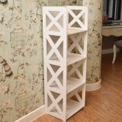 stable Rack, bathroom settlement Shelf Free punching Multilayer WC Storage storage box Simple and elegant