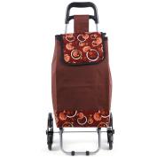 moxin Supermarket Shopping Cart – Flip Car Portable, 35L