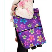 moxin Shopping Cart Trolley Bag – Luggage 2 Wheels, Shopping Bag, 20L