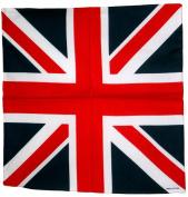 London England Flag Bandana 55X55 Cm Punk Rock