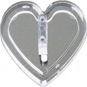 Nail Art Tiph Holder TipD ISPLAY for Click Tips + Heart + Ideal for Practise or Work and Fashion, Nail Art.