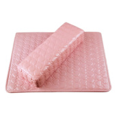 ROKOO 2Pcs/ Set Nail Hand Rest Pillow PU Leather Arm Rest Manicure Nail Art Hand Cushion Holder Tool