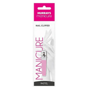 Murrays Manicure Metal Nail Clipper, Pastel Pink/Green