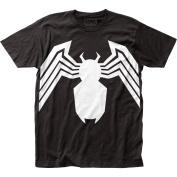 Venom Marvel Comics Comic Book Supervillain Suit Adult Fitted Jersey T-Shirt Tee