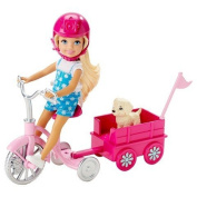 Barbie Chelsea & Pup Mobile Playset
