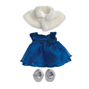 Baby Stella - Party Dress - Doll Clothes by Manhattan Toy Co.
