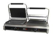 "Commercial Quality Double Contact Grill with a 12 month commercial ""on site"" guarantee"
