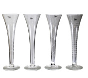 Cosy Trendy Champagne Glass Set of 4 Champagne Glasses Belgium