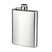 8 9 10 530ml Stainless Steel Pocket Hip Flask Alcohol Whiskey Liquor Screw Cap Great Gifts