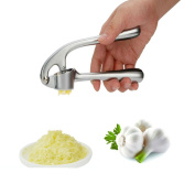 TKSTAR Garlic Press , Stainless Steel Garlic Press with Heavy Large Handles Easily Slices and Clean, Ginger Crusher