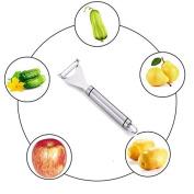 TKSTAR Potato Peeler Stainless Steel for Peeling and Shredding Delicious Fruits & Vegetables