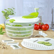Gravidus Salad Spinner with Grater