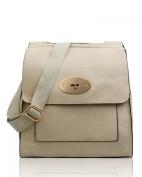 LeahWard Women's Cross Body Flap Handbags High Quality Faux Leather Shoulder Across Body Bag For Women Girls Mum's Tote Grab Bag