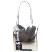 My-Musthave Women's Shoulder Bag Silver Silver mittel