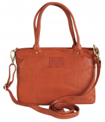 Rowallan Soft Leather Medium Tan Grab Shoulder Bag 31-9819 RRP 89.99 OURS £69.99