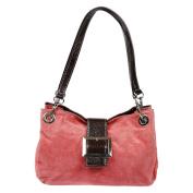 Christian Wippermann® Women's Shoulder Bag Pink pink 27x18x12 cm