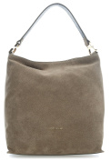 Coccinelle Arlettis Suede Hobo olive-green