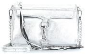 Rebecca Minkoff Mini M.A.C. Shoulder Bag silver