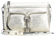 Rebecca Minkoff Mini M.A.C. Shoulder Bag gold