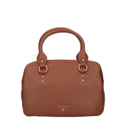 Guess Margot box shoulder bag light brown