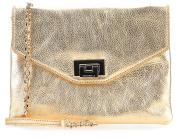 Coccinelle Pochette Shoulder Bag gold