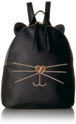 T-Shirt & Jeans womens Cat Back Pack With Metallic Face