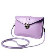 Zipper Coin Purse Fashion Zero Purse Bag Leather Handbag Single Shoulder Messenger Phone Bag