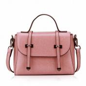 Trend Handbag Leather Small Bag Shoulder Messenger Bag Female Handbag , pink