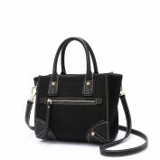 Retro All Match Wing Bag Fashion Shoulder Messenger Bag Handbags , black