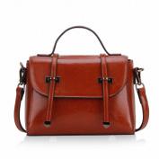 Trend Handbag Leather Small Bag Shoulder Messenger Bag Female Handbag , khaki