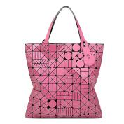 Women's Matte Geometric Folding Bag Fashion Shoulder Bag