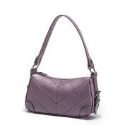 Ladies bag, shoulder messenger bag, simple large-capacity ladies bag, handbag-E