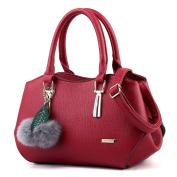 Female handbag, shell package, simple shoulder messenger bag-D