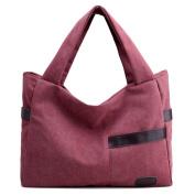 Fei cheng products lady bag canvas shoulder bag retro national wind handbag leisure tote bag handbag-C