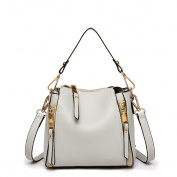 Women crossbody bags,nylon water resistant lightweight handbag shoulder messenger cross-body bag multi zip pockets for ladies-E
