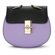 Women crossbody bags,Nylon water resistant lightweight handbag shoulder messenger cross-Body bag multi zip pockets for ladies-G