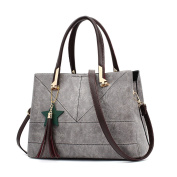 FZHLYNew Style Ladies Solid Colour Shoulder Bag