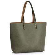 Womens Reversible Bags Ladies Designer Handbags Faux leather Large Size Shoulder Unique Look