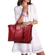 365-Shopping Classic Retro Women Handbag Leather Shoulder Bags Handbags Large Tote Bags Ladies Handbags Cross Body Bag