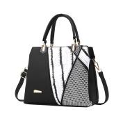 Vbiger Chic Tote Bag PU Leather Messenger Bag Dual-use Shoulder Bag Crossbody Bag for Women