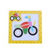 Domybest Children Kids Tangram Board Puzzles Wooden Cartoon Animals Jigsaw Educational Toys Creative Game
