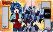 Cardfight Vanguard Aichi Sendou with Majesty Lord Blaster Playmat Card Sleeves