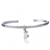 Xinmaoyuan Wedding Jewellery Bracelet Europe And Simple Micro-Inlay Jewellery Wild Cartoon Cat Pendant Bracelet Wedding Gift Birthday Present Holiday Gifts