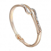 Xinmaoyuan Wedding Jewellery Fashion Bracelet Jewellery In Europe And America The Arc New Alloy Diamond Bracelet Wedding Gift Birthday Present Holiday Gifts