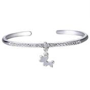 Xinmaoyuan Wedding Jewellery Micro-Inlay Jewellery Fashion Jewellery Jewellery Jewellery In Europe And Simple Dog Pendant Bracelet Wedding Gift Birthday Present Holiday Gifts