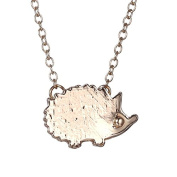 Xinmaoyuan Wedding Jewellery Fashion Jewellery Lovely Hedgehog Ornaments Animals Clean Couple Necklace , Gold Wedding Gift Birthday Present Holiday Gifts