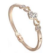 Xinmaoyuan Wedding Jewellery Fashion Jewellery In Europe And Stylish Bracelet Heart Shape Diamond Bracelets Wedding Gift Birthday Present Holiday Gifts