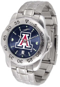 Arizona Sport Anonized Men's Steel Band Watch