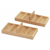 Cheap Wooden Poker Chip Tray Set